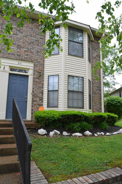 Condo/Townhouse Sold: 501 Thomas Jefferson Cir