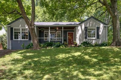 Nashville Single Family Home Active - Showing: 1529 McGavock Pike
