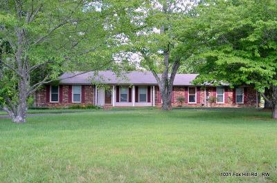 Single Family Home Active - Showing: 1031 Fox Hill Rd