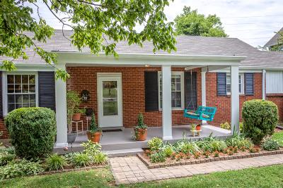 Nashville Single Family Home Active - Showing: 1809 Tammany Dr
