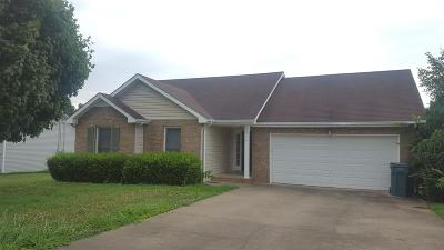 Clarksville Rental Active - Showing: 1316 Meredith Way