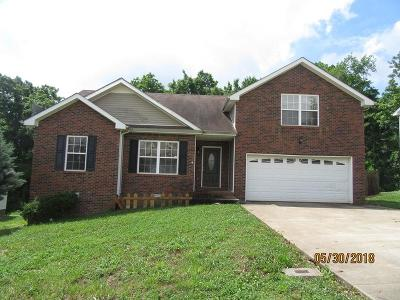 Clarksville Single Family Home Active - Showing: 3136 Brook Hill Dr