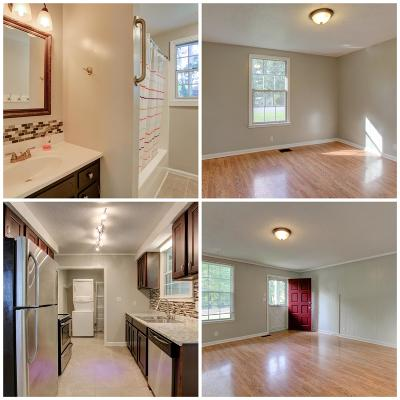 Clarksville Single Family Home Under Contract - Not Showing: 542 Caskey Dr