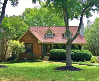 Nashville Single Family Home Under Contract - Showing: 2412 Ravine Dr