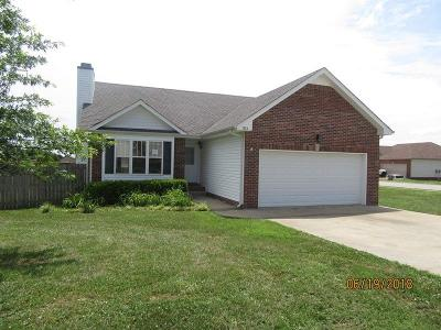 Clarksville Single Family Home Active - Showing: 834 Samantha Ln