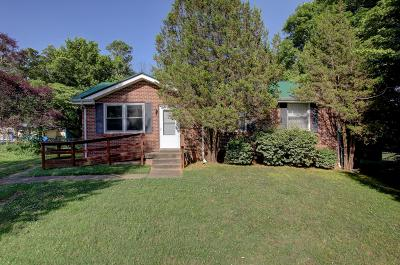 Clarksville Single Family Home Under Contract - Showing: 1311 Old Gratton Rd