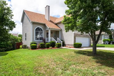 Davidson County Single Family Home Active - Showing: 5757 Murphywood Xing