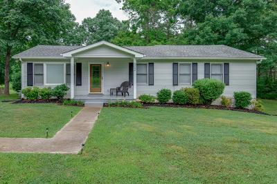 Kingston Springs Single Family Home Active - Showing: 602 Mount Pleasant Rd