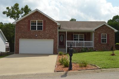 Clarksville TN Single Family Home Under Contract - Not Showing: $165,000