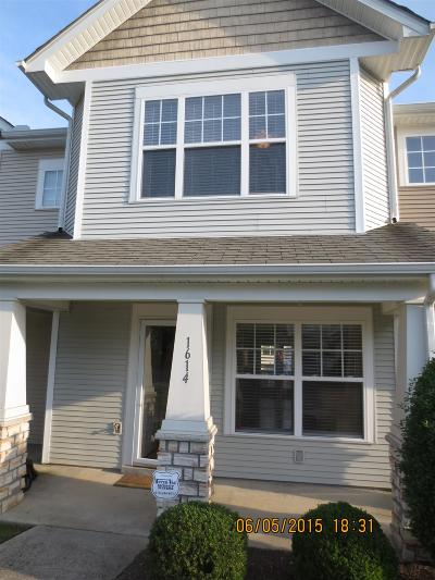 Nashville TN Condo/Townhouse Under Contract - Not Showing: $160,000