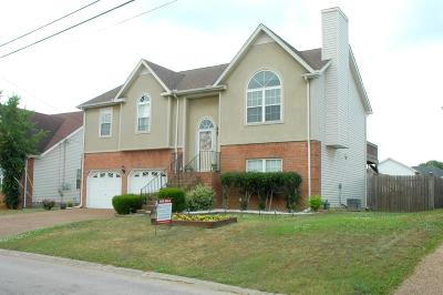 Davidson County Single Family Home Under Contract - Not Showing: 6209 Rocky Top Dr