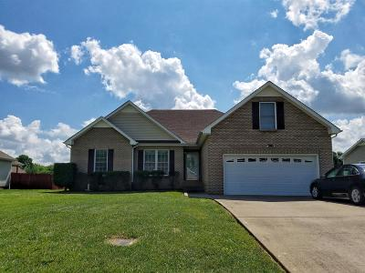 Clarksville Single Family Home For Sale: 3912 Rhonda Ct