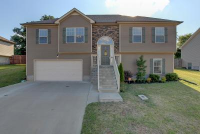 Clarksville Single Family Home Under Contract - Showing: 1080 Freedom Dr