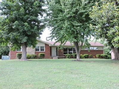 Clarksville Single Family Home Under Contract - Not Showing: 343 Kimbrough Rd