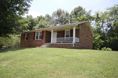 Clarksville Single Family Home Under Contract - Showing: 2212 Glory Dr