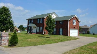 Ashland City Single Family Home For Sale: 1053 Marvel Rd