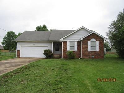 Clarksville Single Family Home Under Contract - Showing: 709 Gardendale Ln