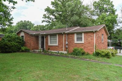Hendersonville Single Family Home Under Contract - Showing: 116 Cranwill Dr