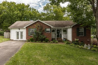 Gallatin Single Family Home Under Contract - Showing: 120 Tyler Ct