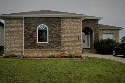 Clarksville Single Family Home Under Contract - Showing: 669 White Face Dr
