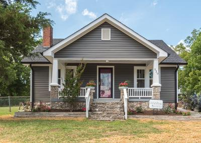Nashville TN Single Family Home Under Contract - Not Showing: $337,000