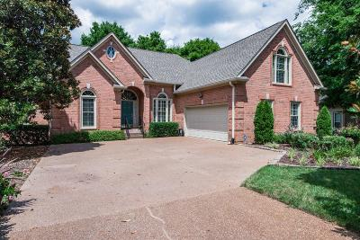 Brentwood Single Family Home Under Contract - Not Showing: 1404 Fort Gaines Place
