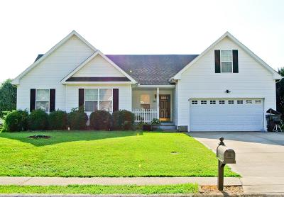 Clarksville TN Single Family Home For Sale: $159,000