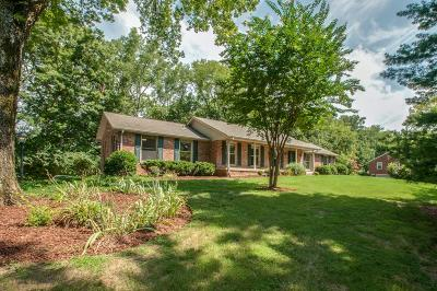 Nashville Single Family Home Under Contract - Not Showing: 6616 Brookmont Ter