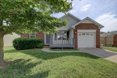 Clarksville Single Family Home Under Contract - Showing: 1845 Timberline Pl