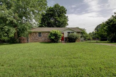 Clarksville Single Family Home Under Contract - Showing: 633 Woodhaven Dr
