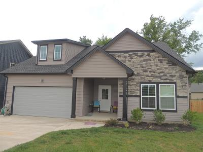 Clarksville Single Family Home For Sale: 1165 Eagles Bluff