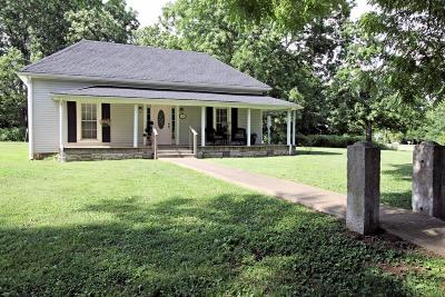 Marshall County Single Family Home For Sale: 1694 Verona Caney Rd
