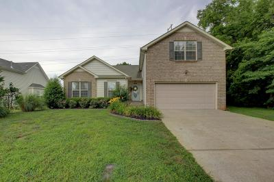 Clarksville Single Family Home Under Contract - Showing: 3161 Hawthorn Dr