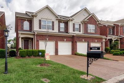 Williamson County Condo/Townhouse Under Contract - Showing: 1156 Culpepper Cir