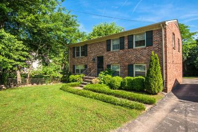 Nashville Single Family Home Under Contract - Not Showing: 6112 Nashua Ave