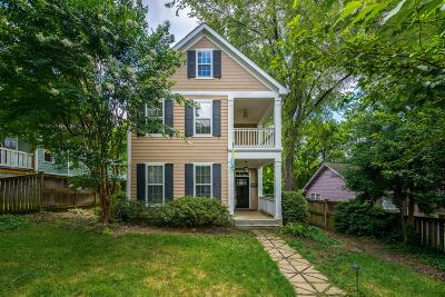 Sylvan Park Single Family Home For Sale: 5203 Elkins Ave