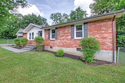 Nashville Single Family Home Under Contract - Showing: 661 James Ave