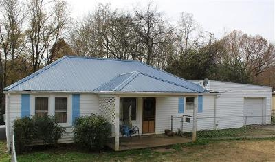 Christian County, Ky, Todd County, Ky, Montgomery County Single Family Home For Sale: 872 Potters Ln