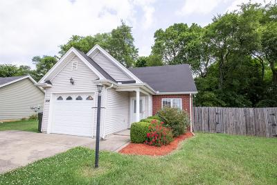 Gallatin Single Family Home Under Contract - Showing: 554 Albion Cir