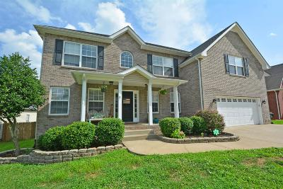 Clarksville Single Family Home For Sale: 1108 Stillwood Dr