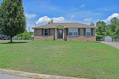Clarksville Single Family Home Under Contract - Showing: 2719 Knob Ct