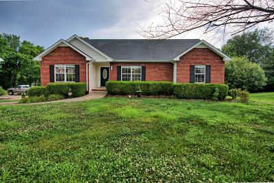 Clarksville Single Family Home Under Contract - Showing: 3367 Brownsville Rd