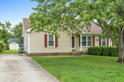 Clarksville Single Family Home Under Contract - Showing: 792 Princeton Cir