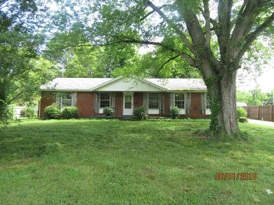 Clarksville Single Family Home For Sale: 204 Slayden Cir