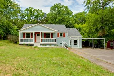 Madison Single Family Home For Sale: 609 Vantrease Rd