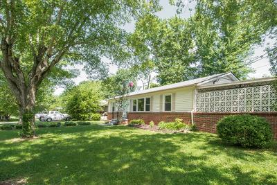 Murfreesboro Single Family Home Under Contract - Showing: 623 Johnson St