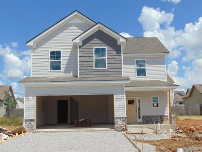 Murfreesboro Single Family Home Under Contract - Showing: 1717 Alysheba Run/Lot1555