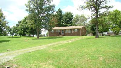 Shelbyville Single Family Home Under Contract - Not Showing: 708 River Ranch Rd