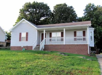 Clarksville Single Family Home Under Contract - Not Showing: 294 Fritz Cir