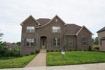 Gallatin Single Family Home For Sale: 1110 Claire Ct Lot42
